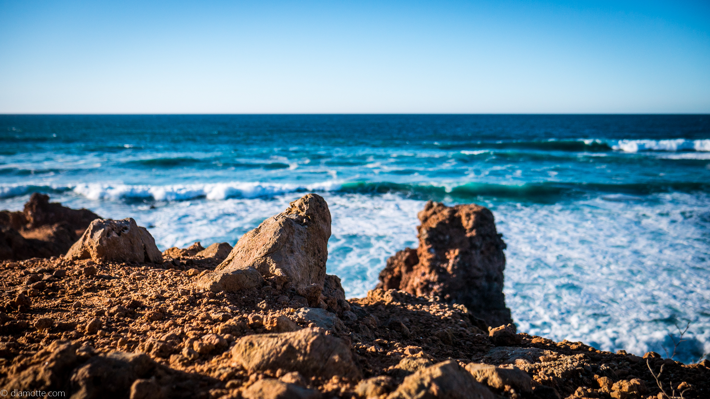 ocean Algarve w listopadzie