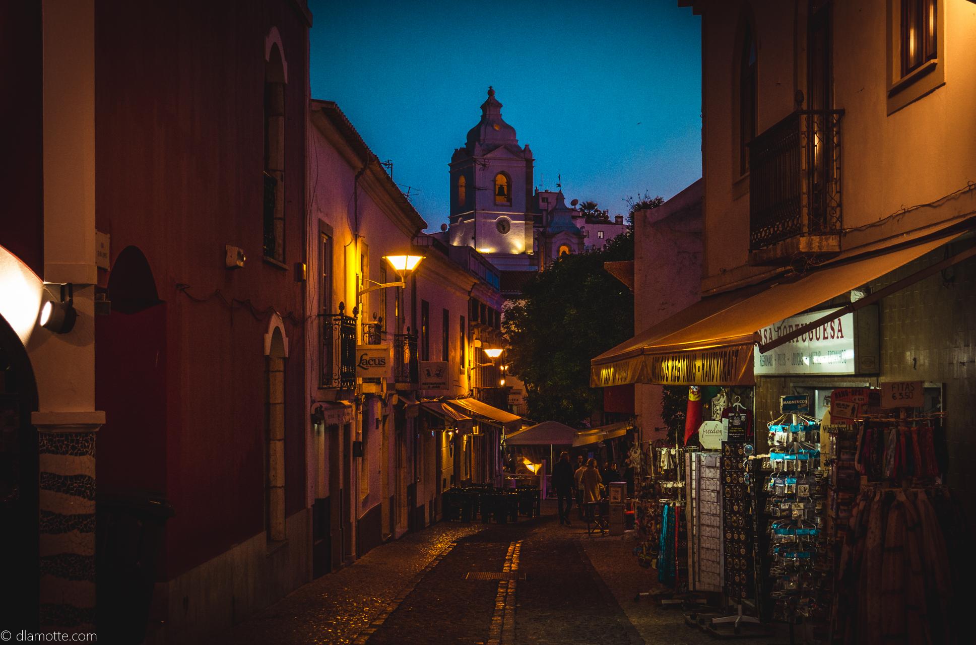 Lagos Algarve w listopadzie