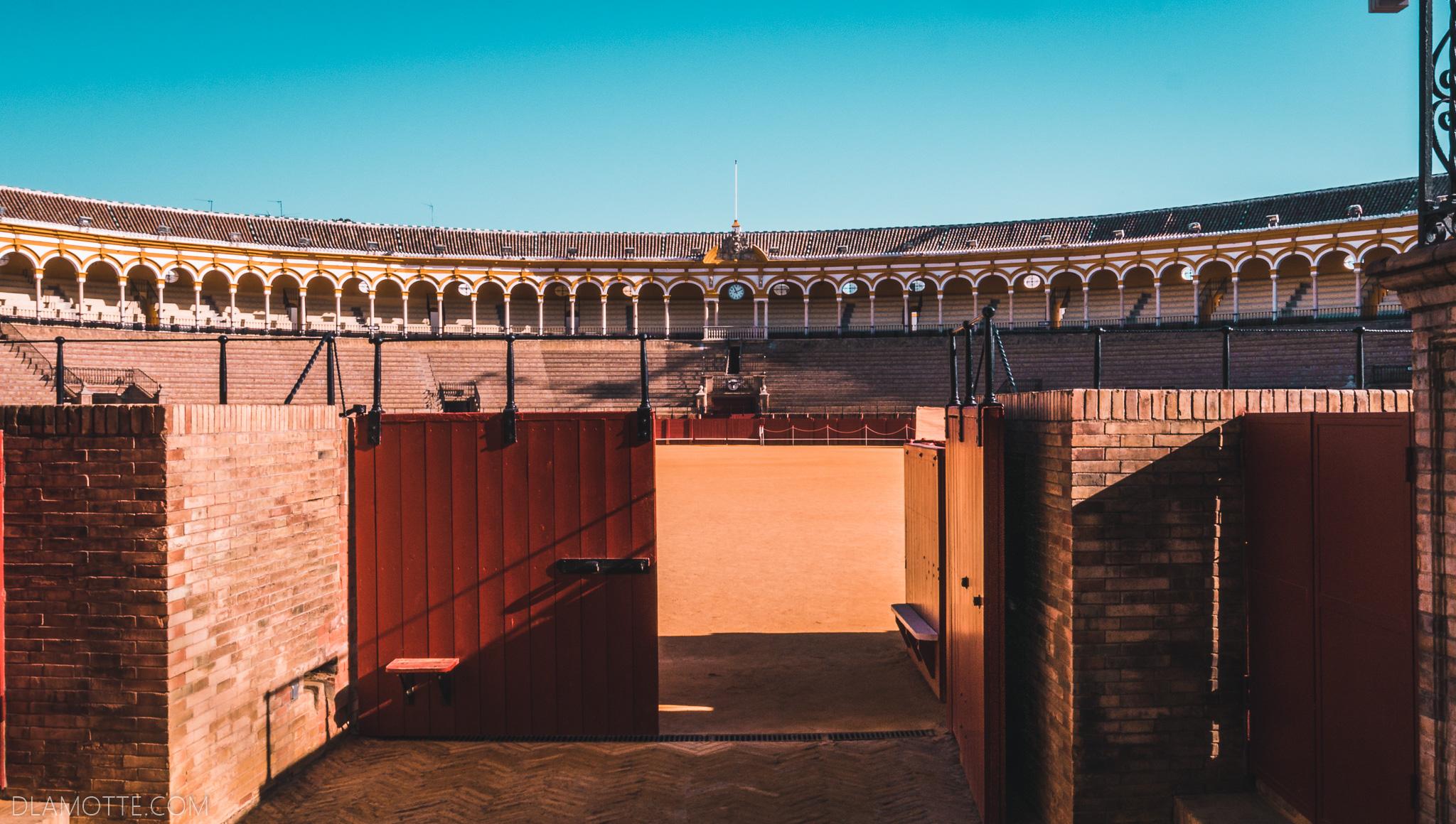 arena byków citybreak w Sewilli