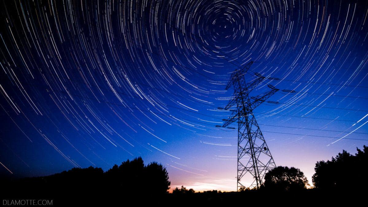 Astrofotografia poradnik ruch gwiazd