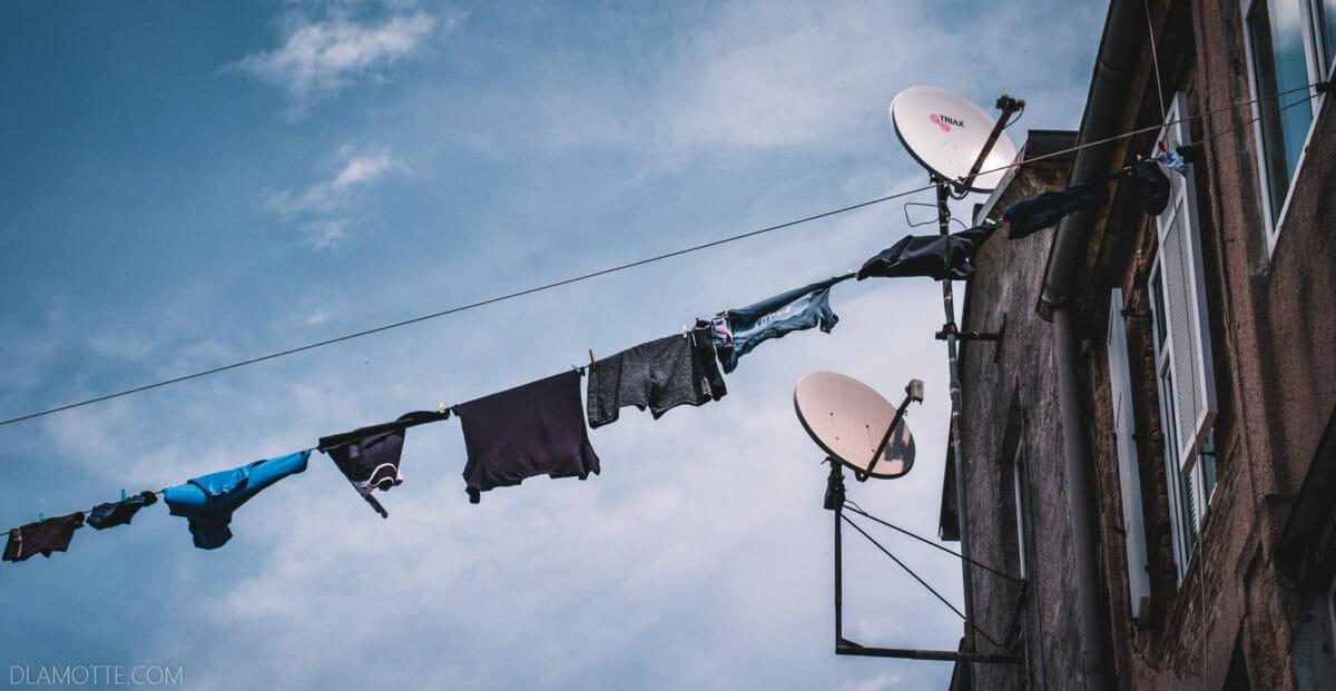 wiszące pranie chorwacka Pula