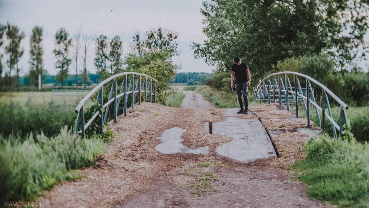 wieś spacer niemcy