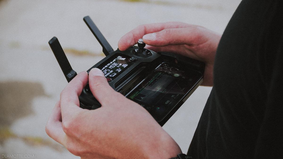 kontroler do drona