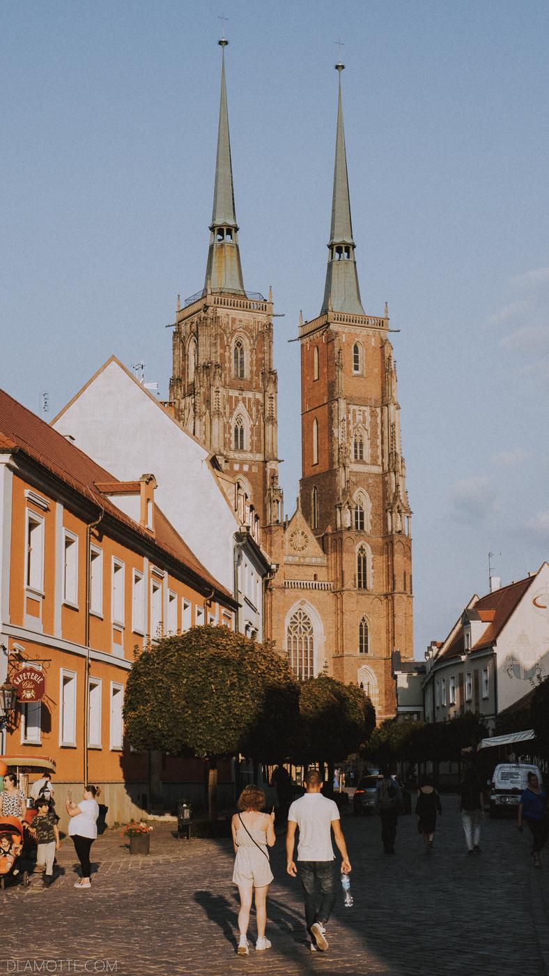archikatedra Ostrów Tumski Wrocław