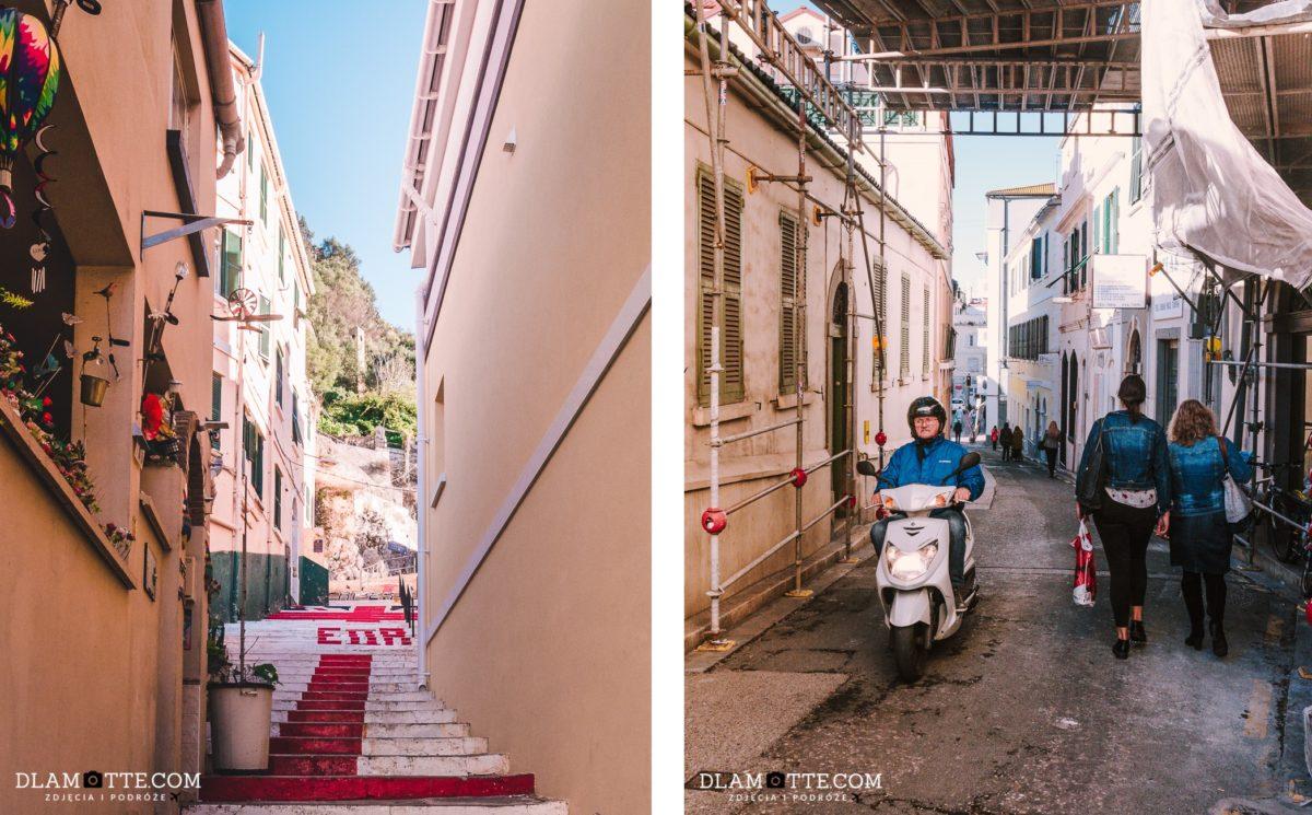 uliczki Gibraltar przewodnik po Gibraltarze