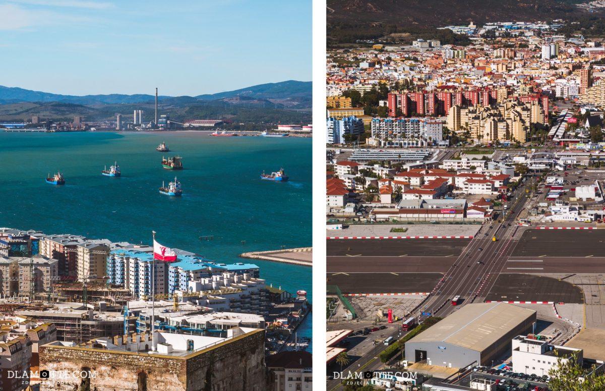 widok Gibraltar przewodnik po Gibraltarze