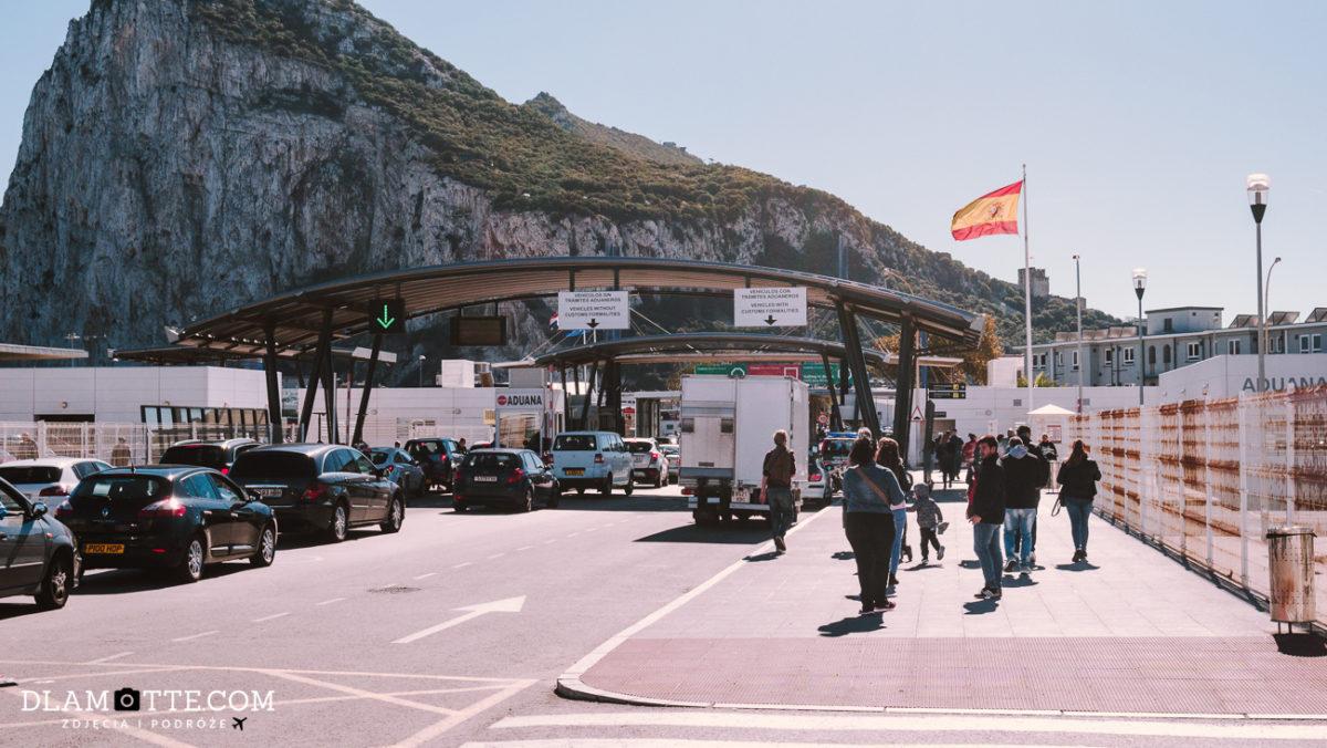przejście graniczne Gibraltar
