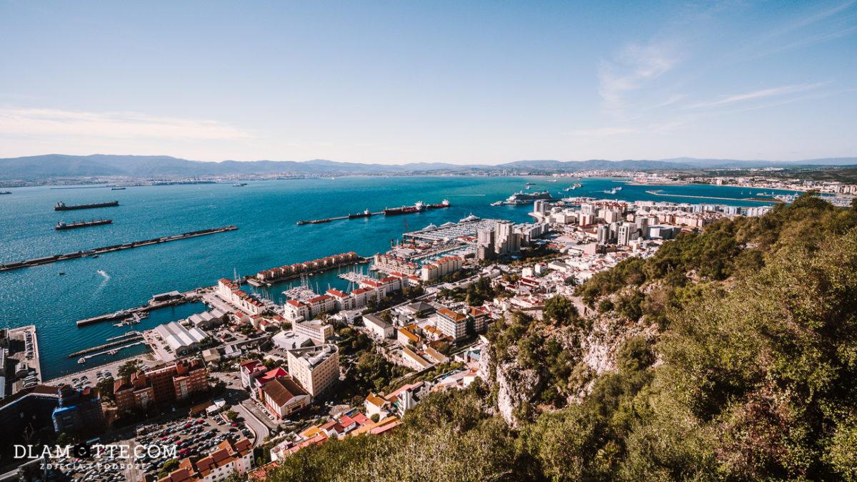 panorama Gibraltaru przewodnik po Gibraltarze