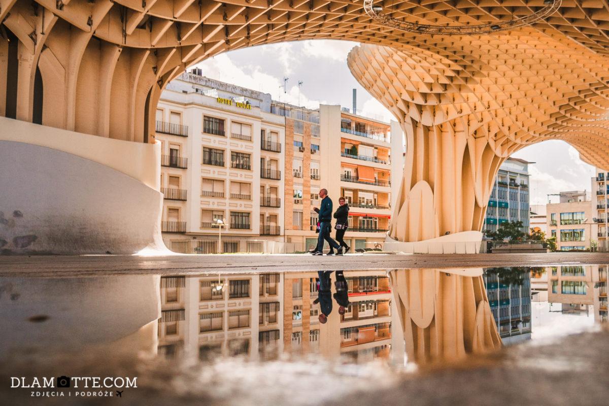 Metropol Parasol w Sewilli roadtrip po Andaluzji