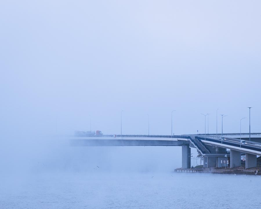 Trasa Zamkowa mgła