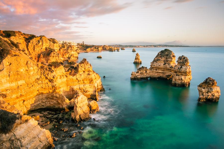 Lagos viewpoint Algarve